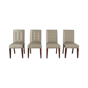 Mitchell Gold + Bob Williams Mitchell Gold + Bob Williams Gisell Side Chairs dimensions