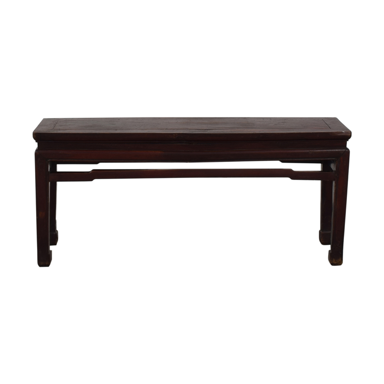 shop Rustic Side Console Table  Tables