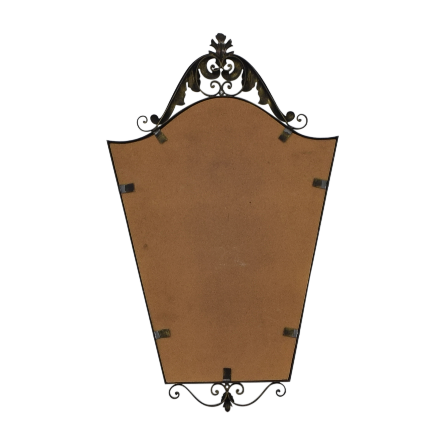 Distressed Metal Wall Mirror second hand