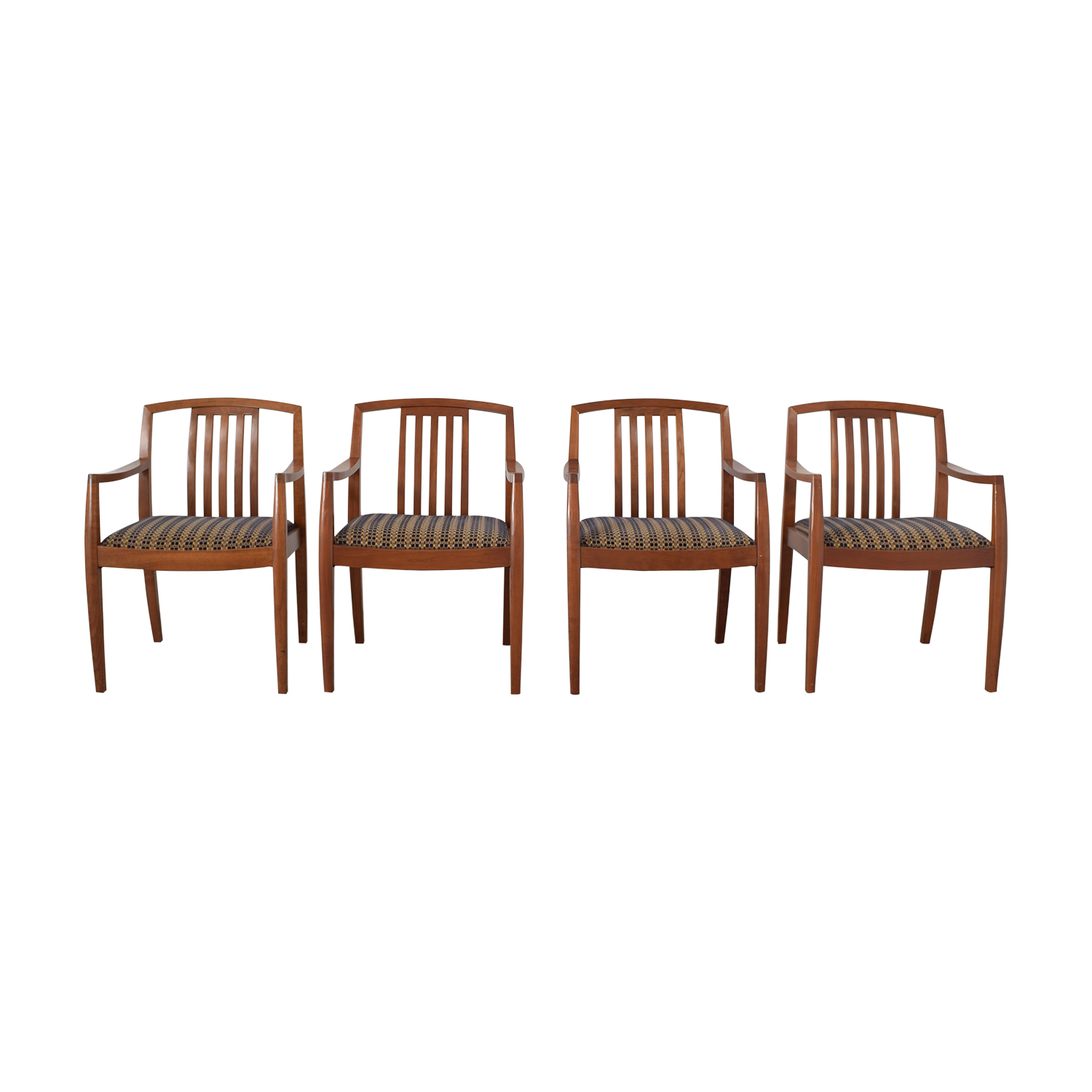 Gunlocke Company Gunlocke Company Upholstered Dining Chairs on sale