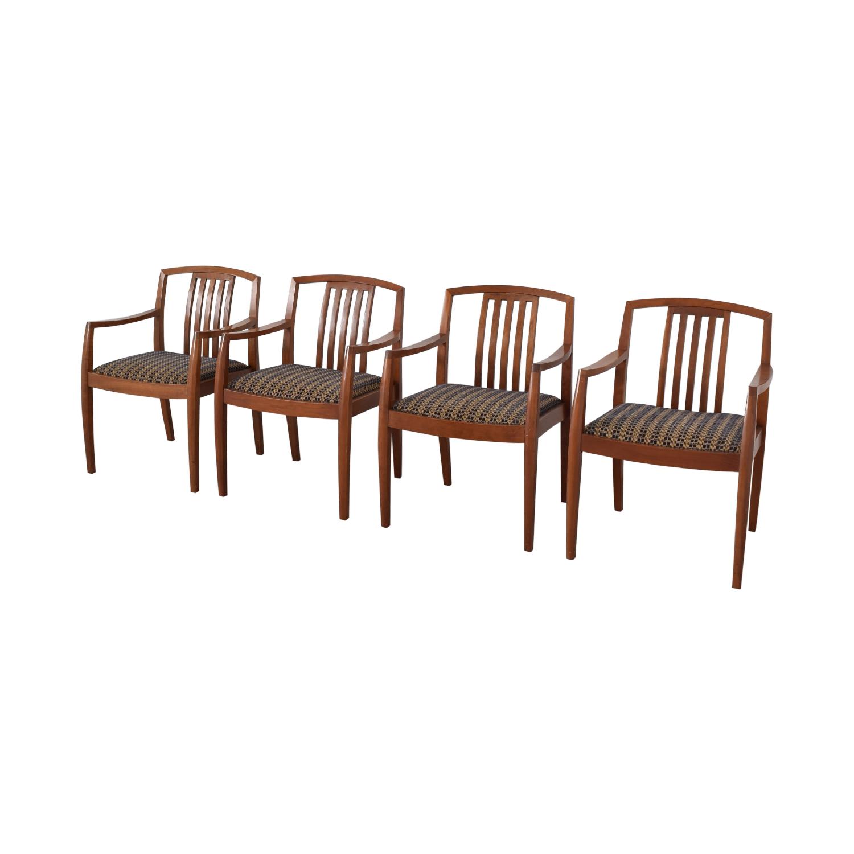 Gunlocke Company Gunlocke Company Upholstered Dining Chairs discount