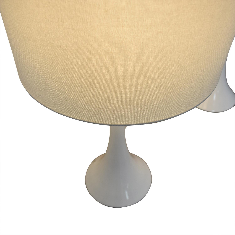 buy CB2 CB2 White Table Lamps online