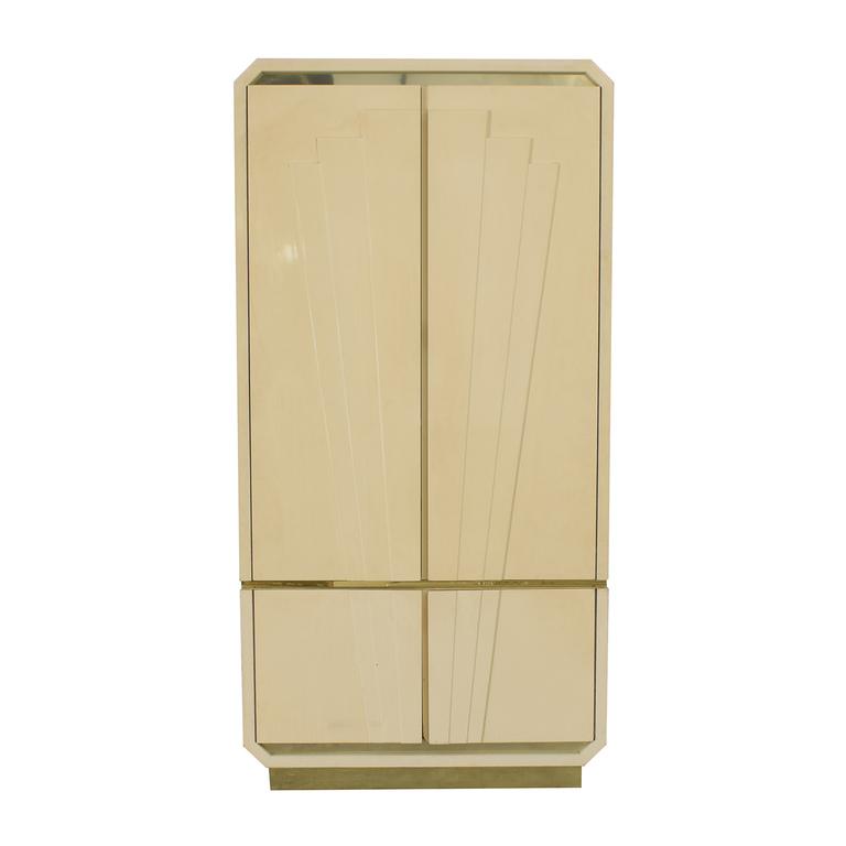 Vintage Lacquer Armoire dimensions
