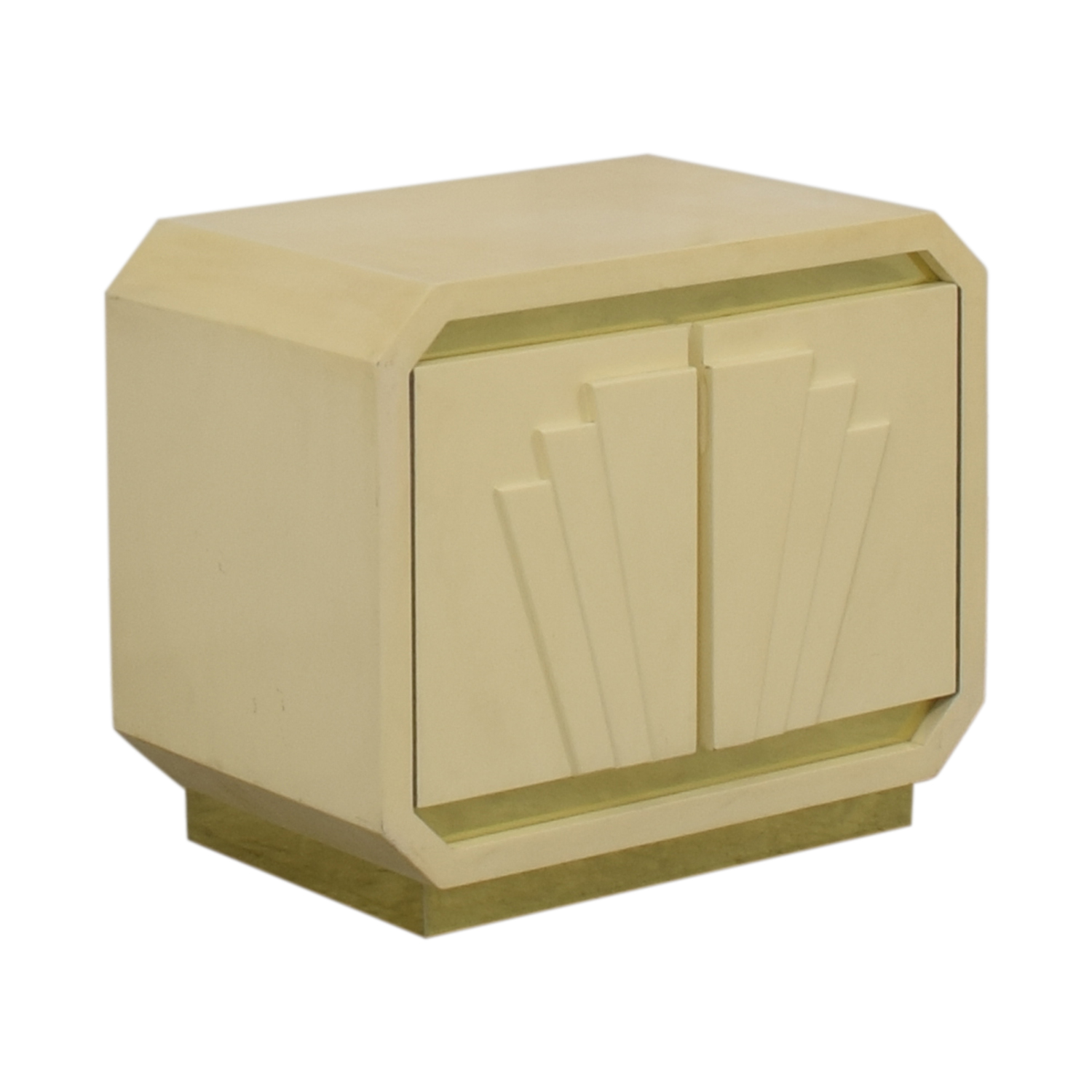 shop Vintage Off-White Nightstand  End Tables