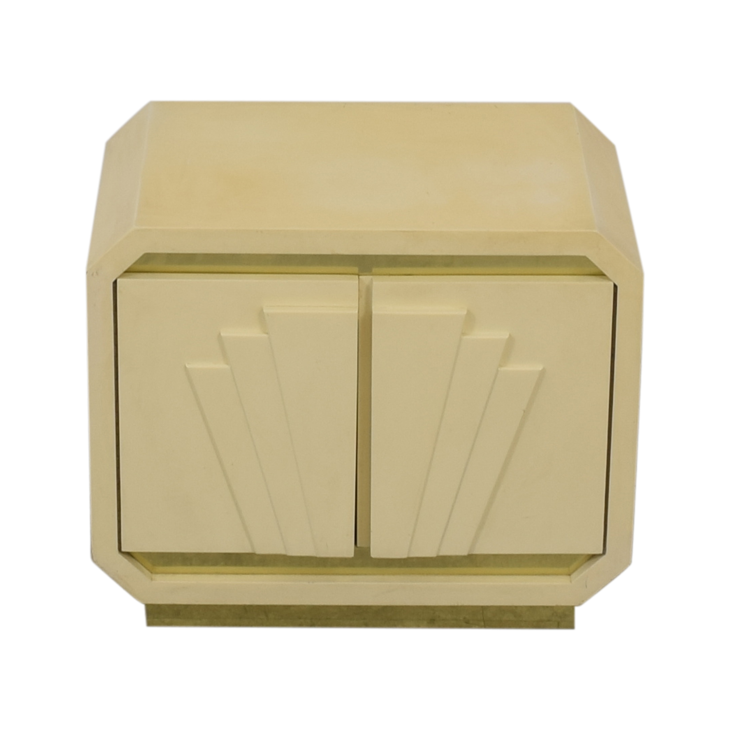 Vintage Off-White Nightstand discount