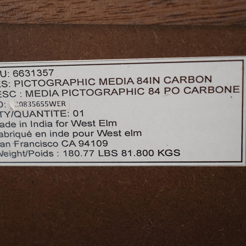 buy West Elm Pictograph Media Console West Elm Media Units