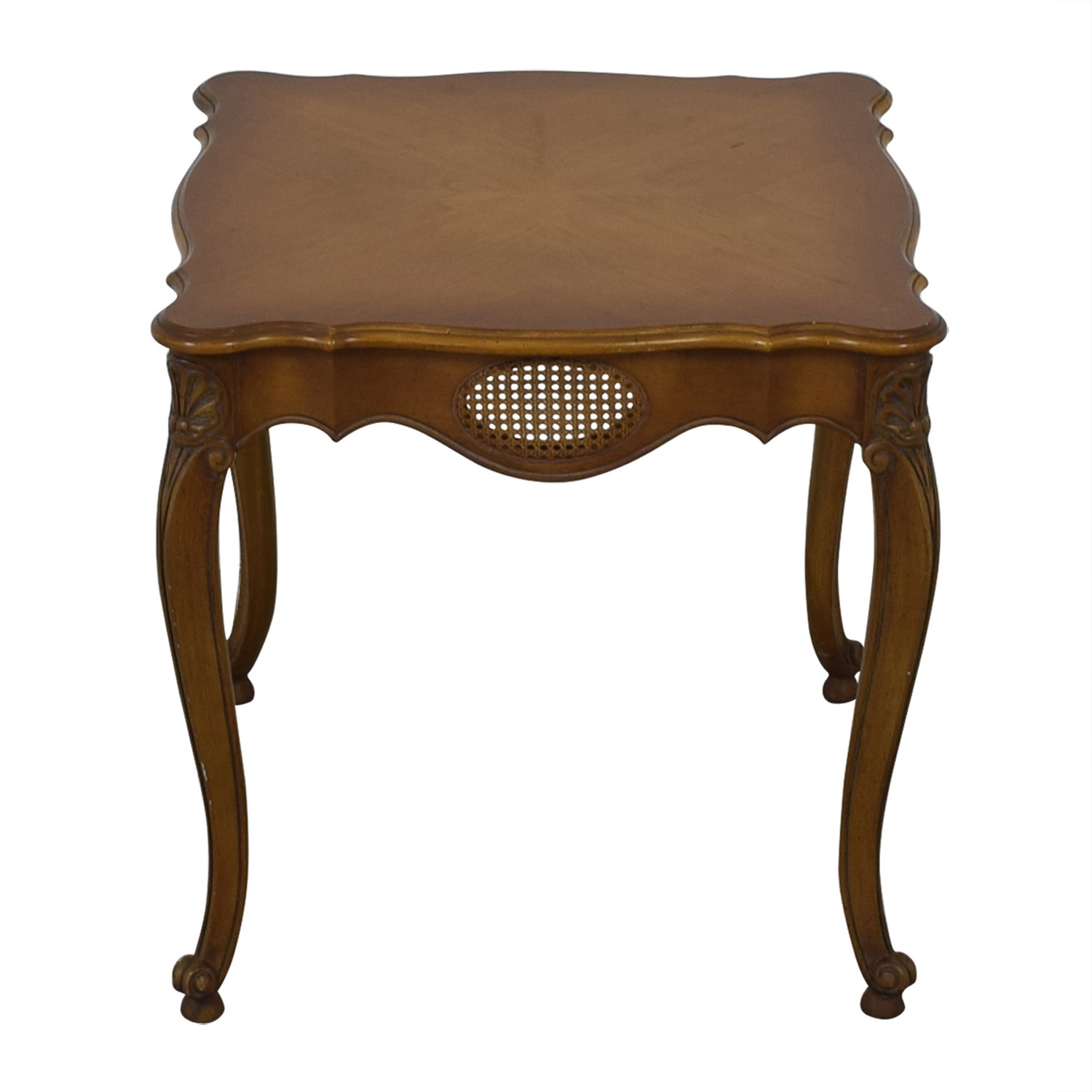 buy French Provincial Cane Weave Accent Table  Accent Tables
