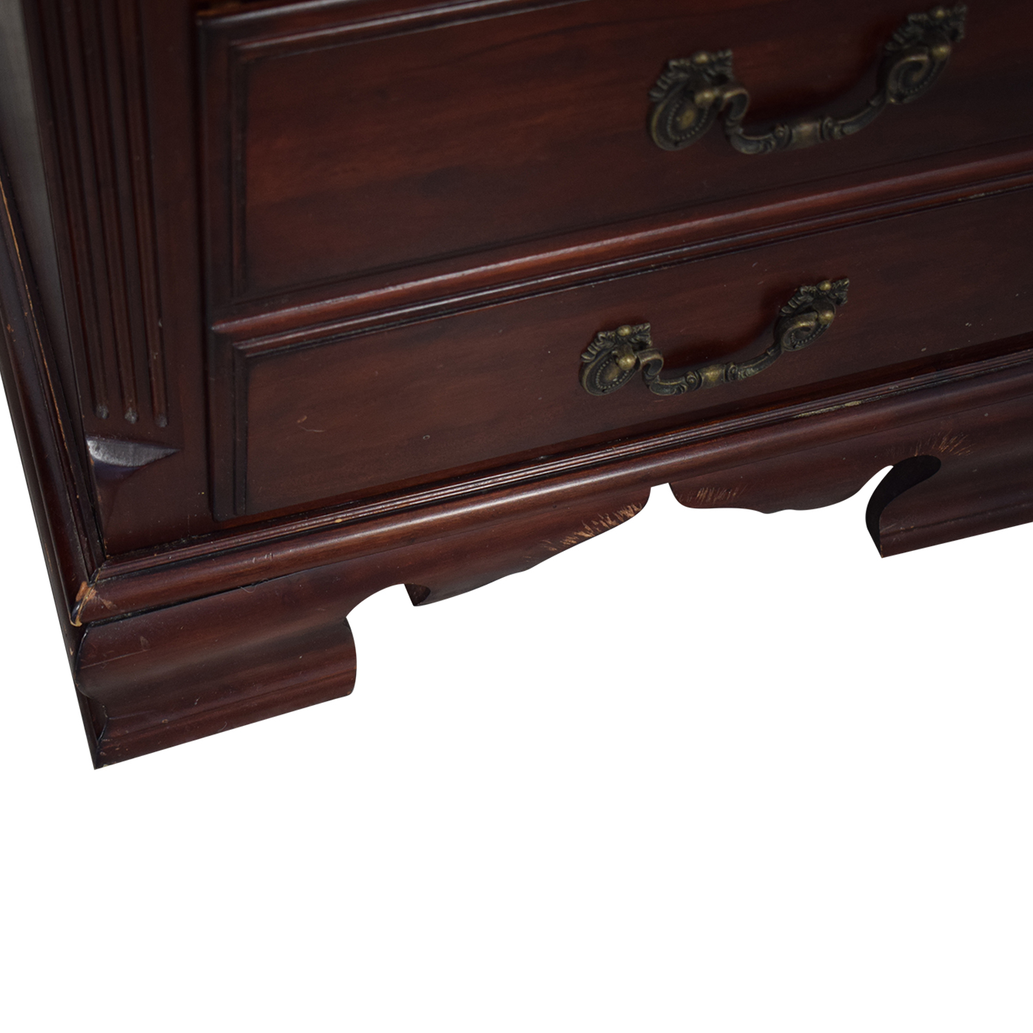 Heirloom Traditions Two-Drawer End Tables Storage