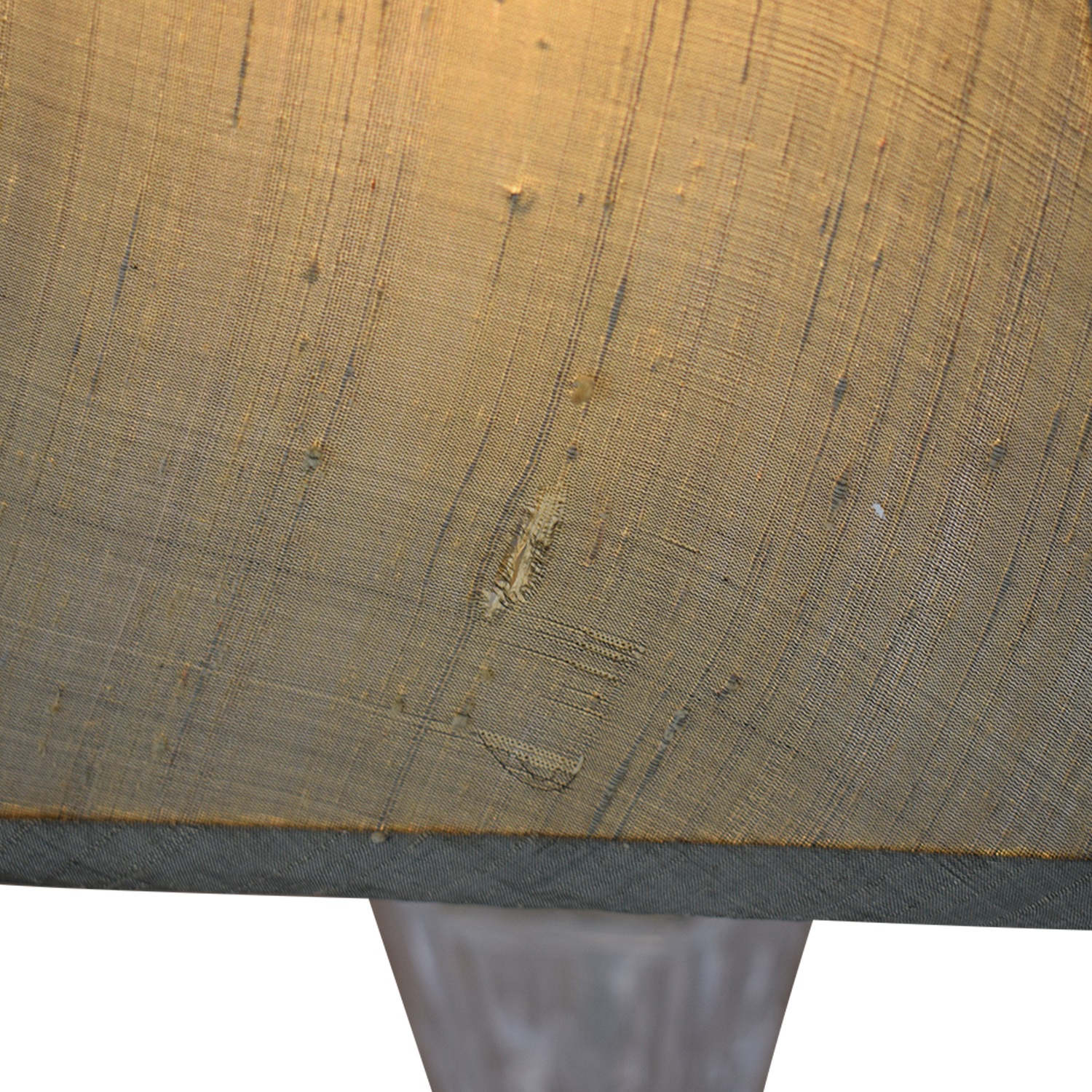 Distressed and Glass Accent Table Lamps for sale