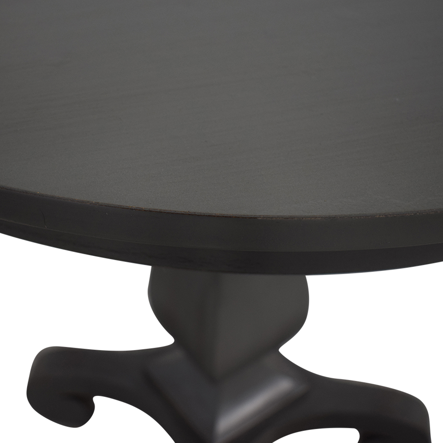 Pier 1 Pier 1 Grey Round Accent Table discount