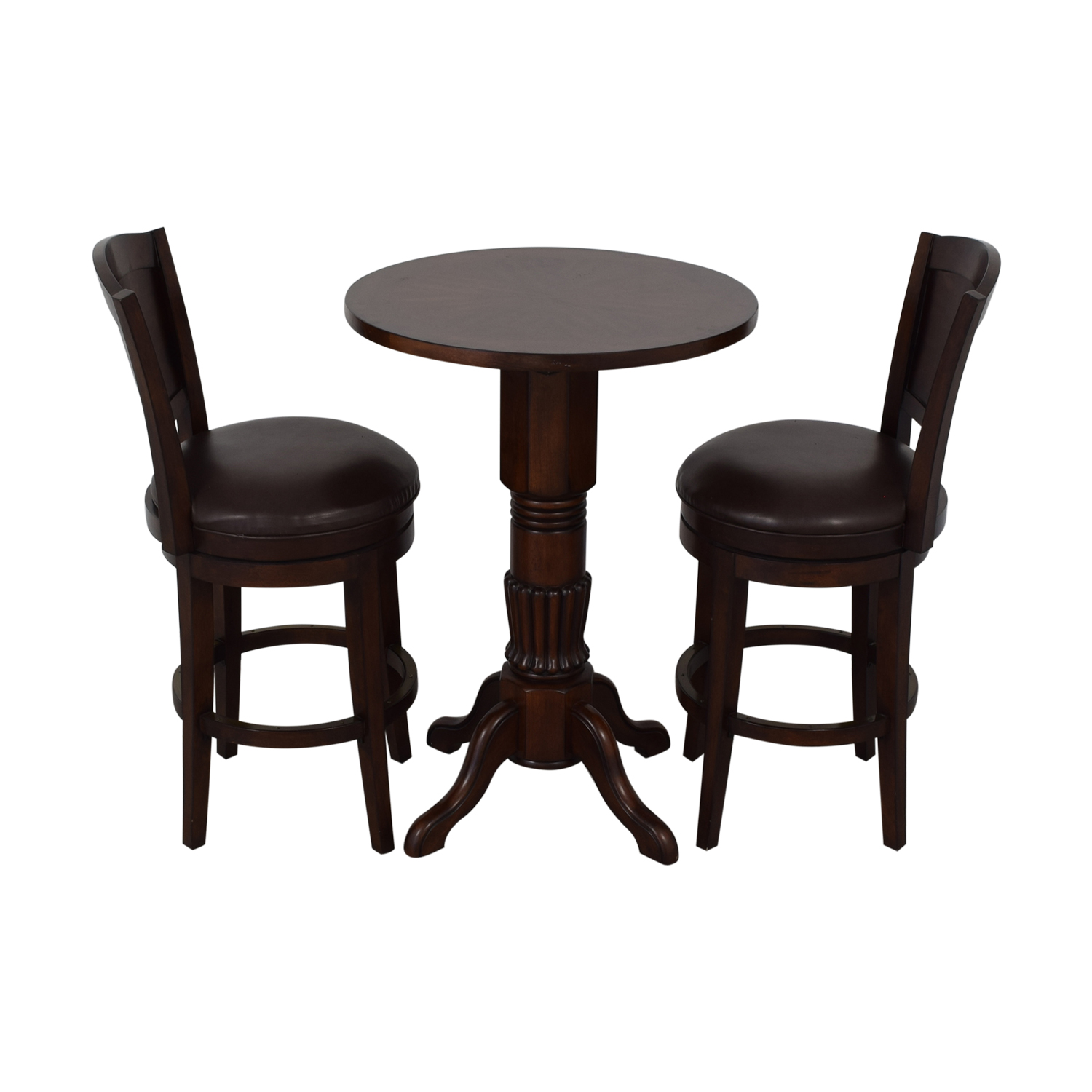 Counter Height Pub Table and Stools / Tables