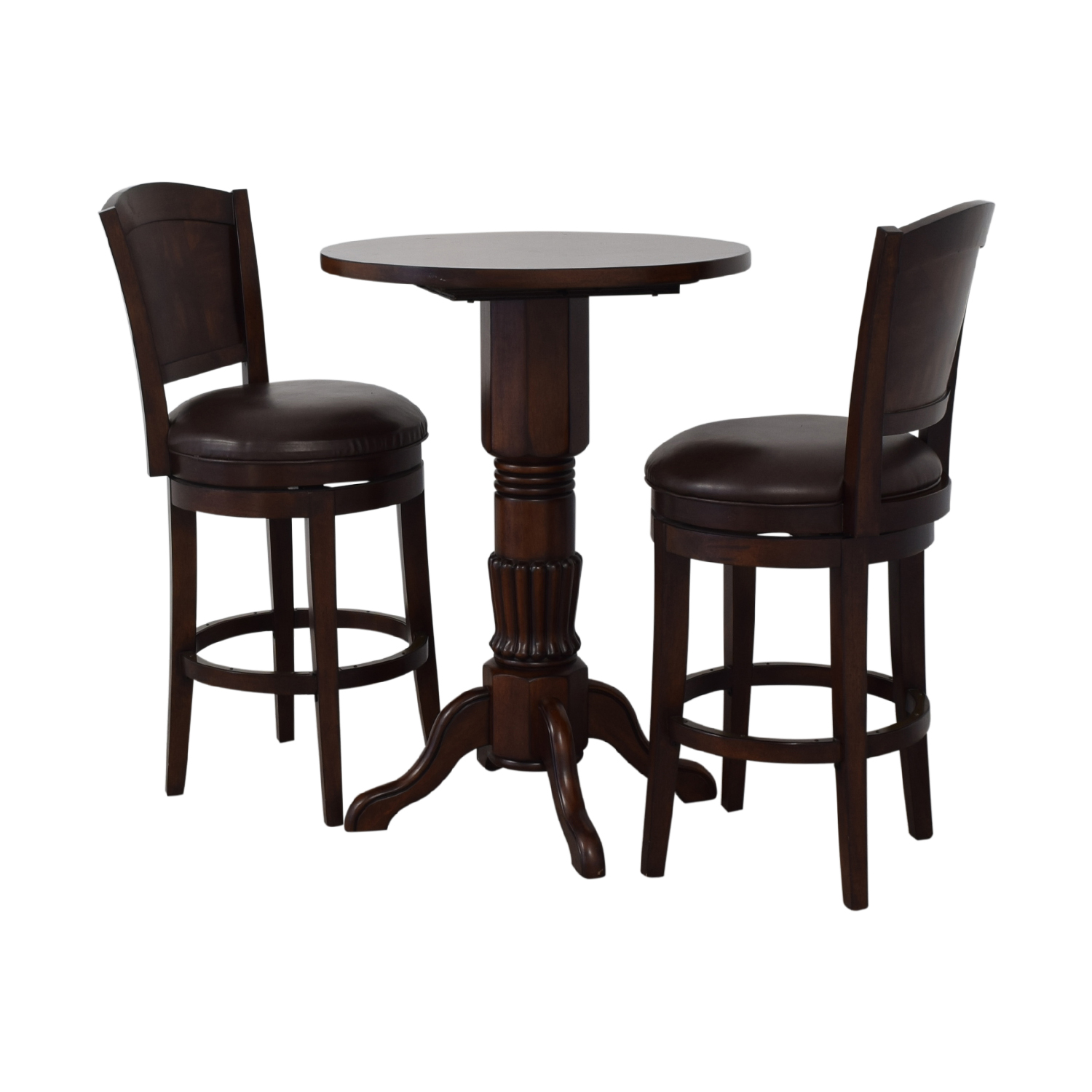 Counter Height Pub Table and Stools nyc