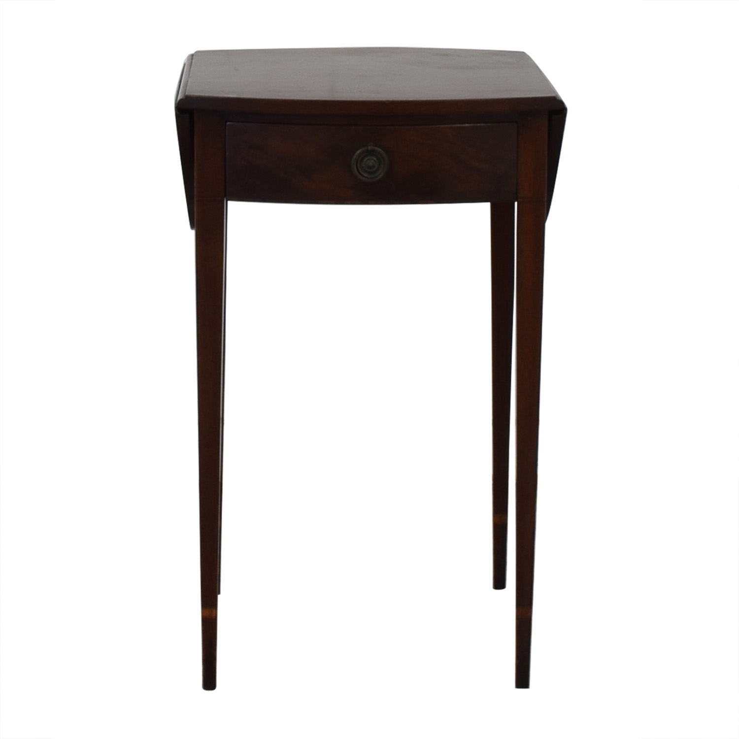 buy Beacon Hill Collection Oval Drop Leaf Accent Table Beacon Hill Collection