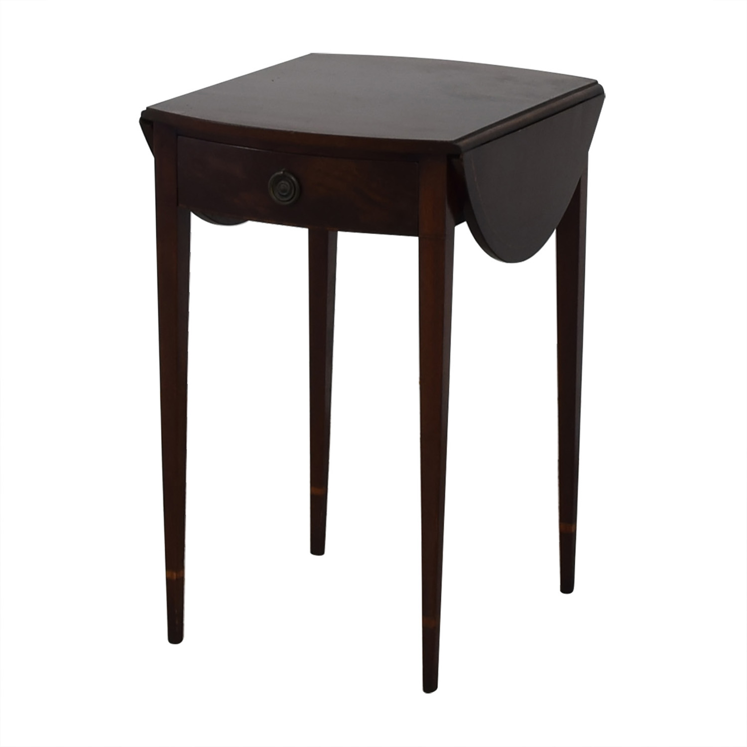 Beacon Hill Collection Oval Drop Leaf Accent Table Beacon Hill Collection