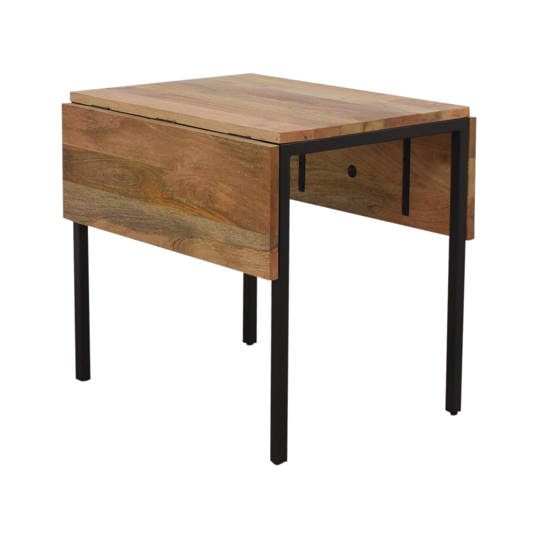 buy West Elm Box Frame Drop Leaf Expandable Table West Elm
