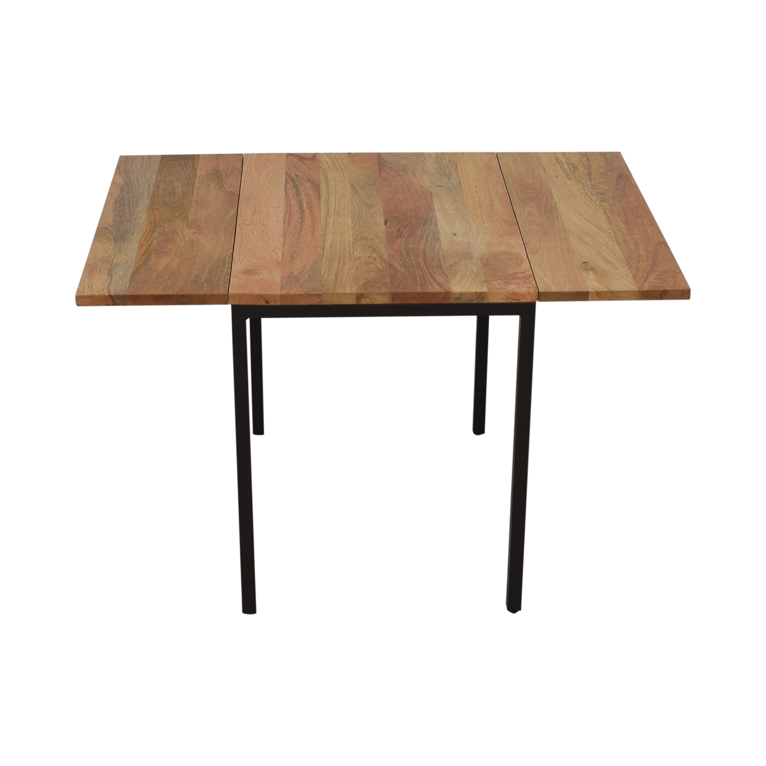 West Elm West Elm Box Frame Drop Leaf Expandable Table on sale