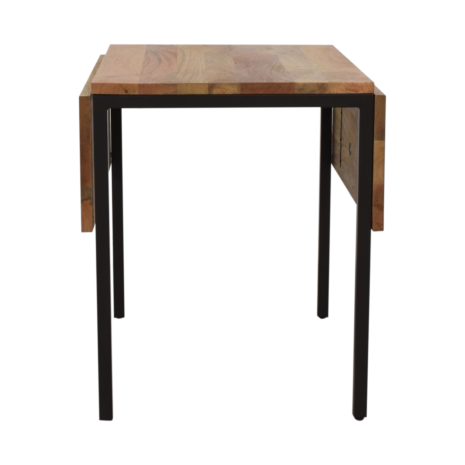 West Elm West Elm Box Frame Drop Leaf Expandable Table for sale