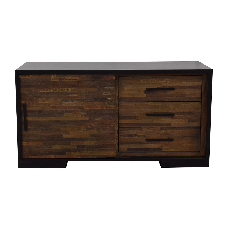 shop Crate & Barrel Media Unit Crate & Barrel Storage