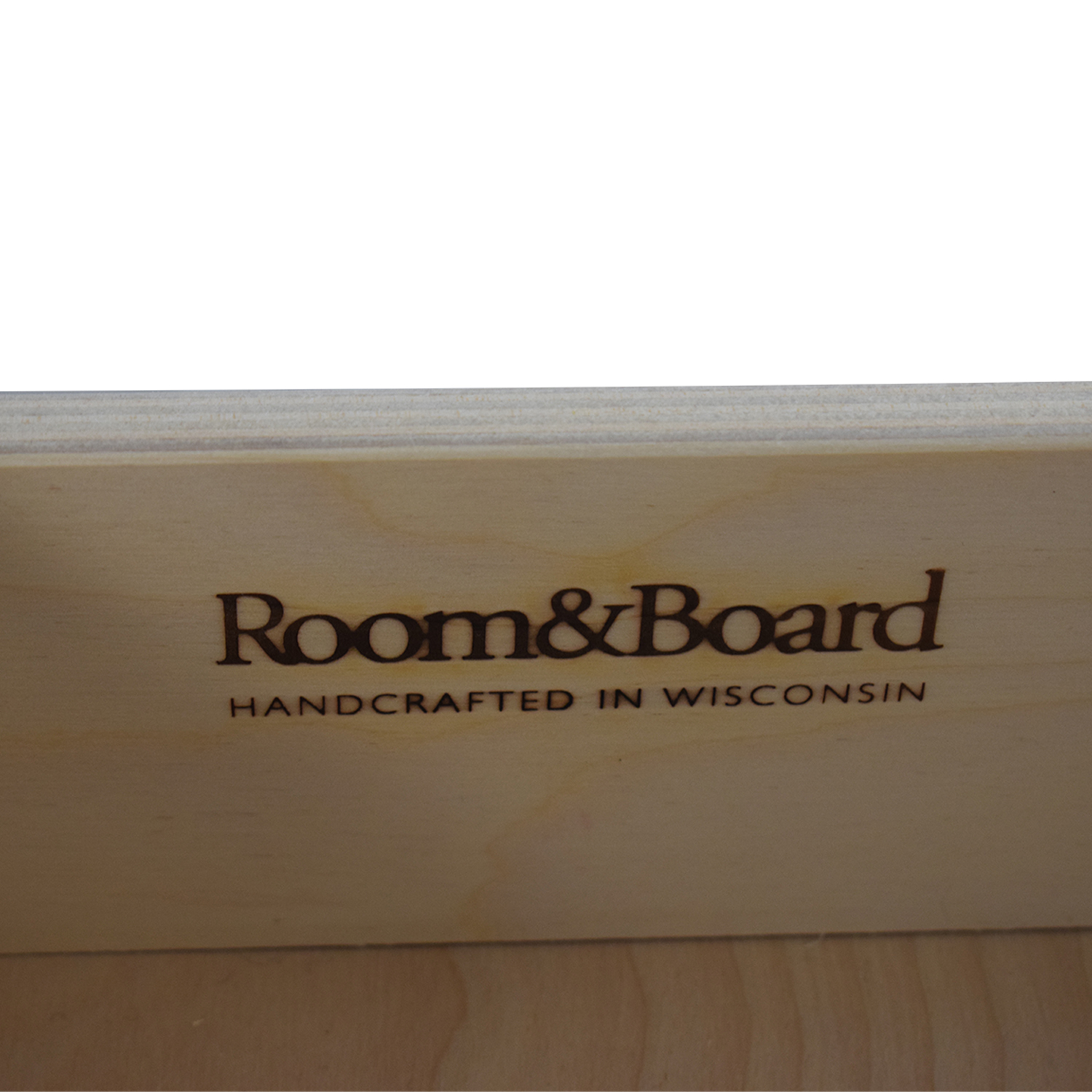 Room & Board Room & Board Two-Drawer Custom Storage Cabinet on sale