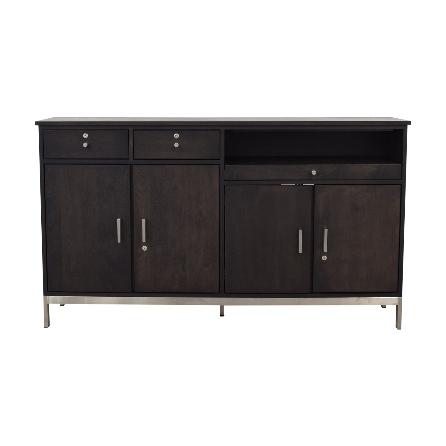 shop Room & Board Two-Drawer Custom Storage Cabinet Room & Board Cabinets & Sideboards