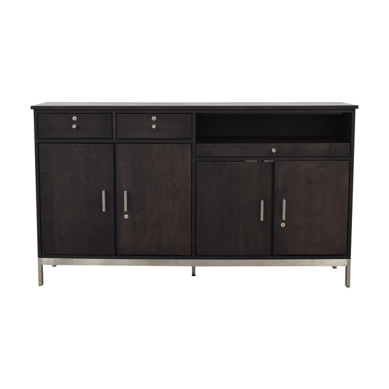 Room & Board Room & Board Two-Drawer Custom Storage Cabinet