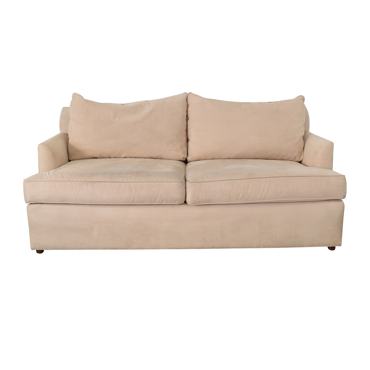 Ethan Allen Ethan Allen Beige Two-Cushion Sofa used