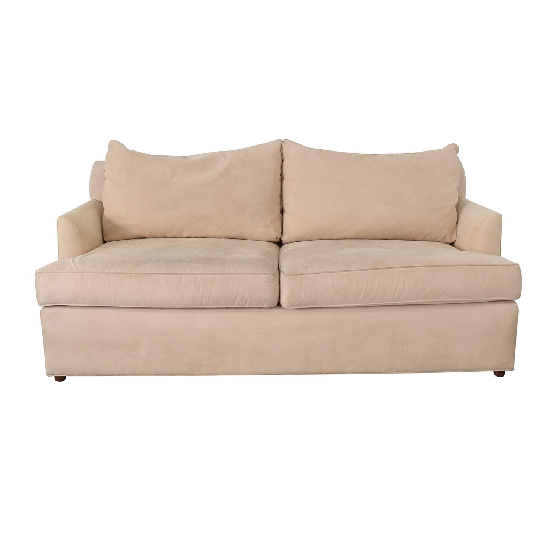 Ethan Allen Ethan Allen Beige Two-Cushion Sofa used