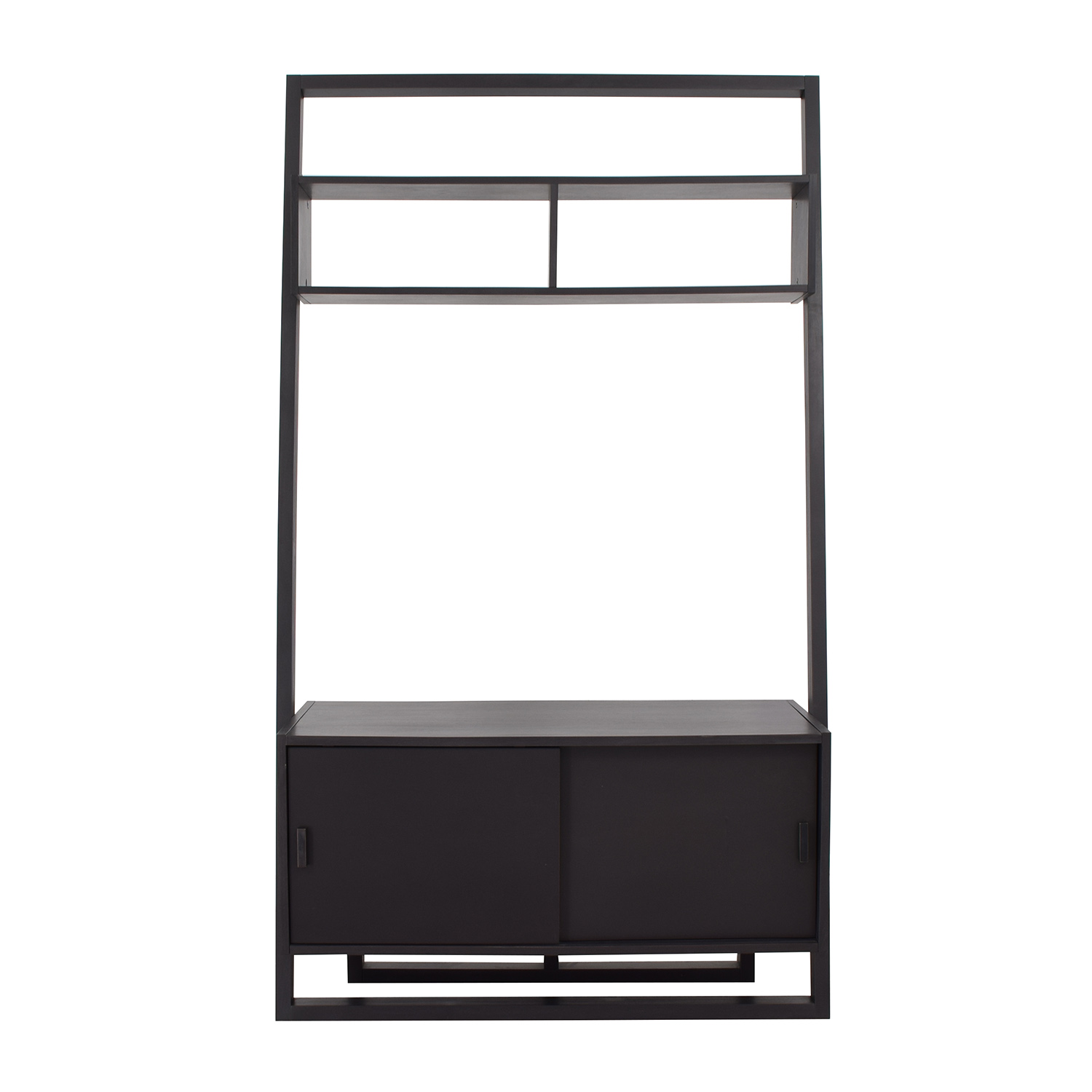 Crate & Barrel Crate & Barrel Sloane Leaning Media Stand nyc