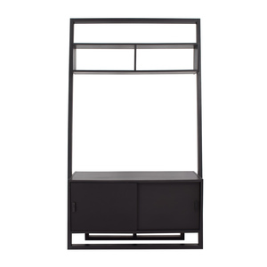 Crate & Barrel Sloane Leaning Media Stand sale