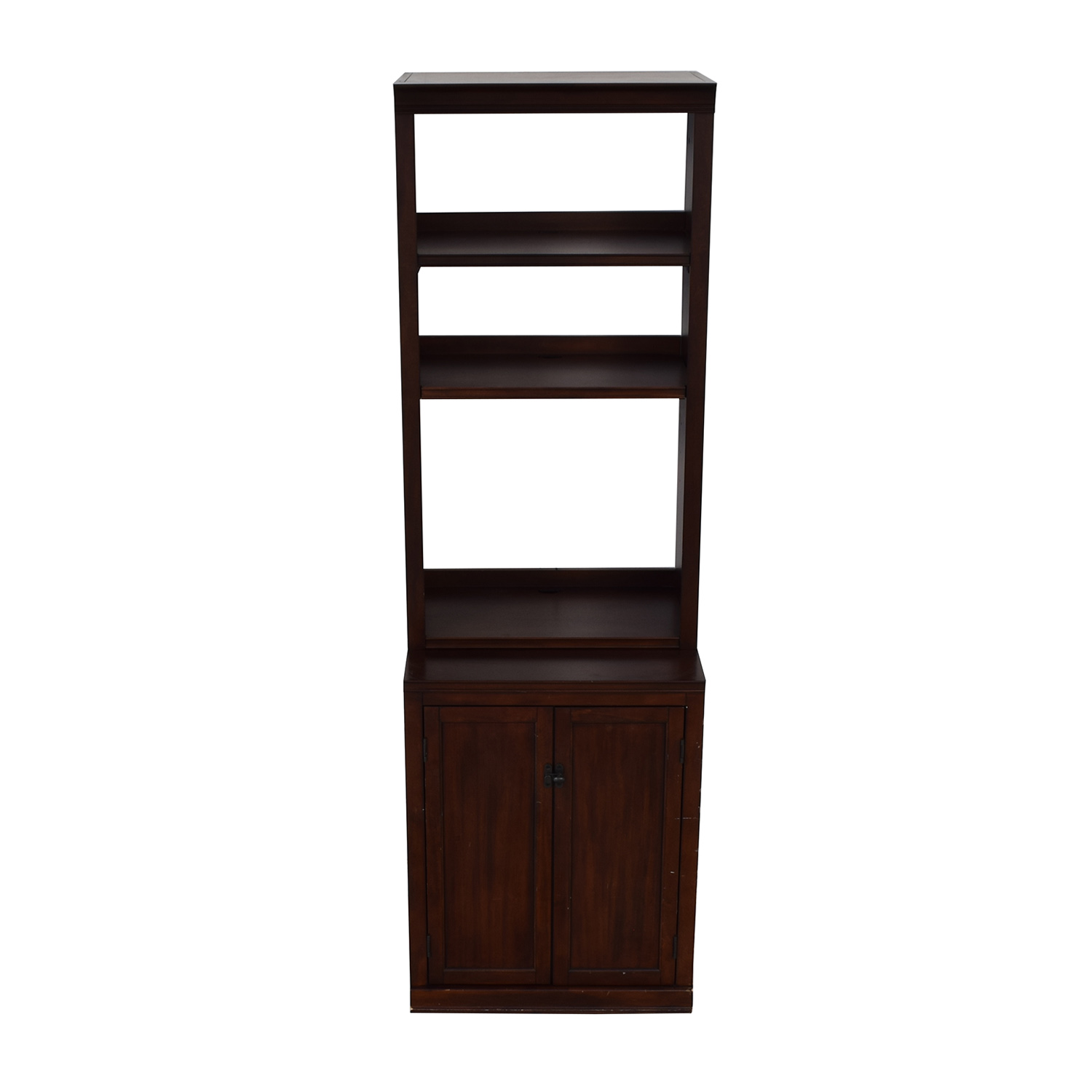 shop Pottery Barn Pottery Barn Bookcase with Storage Cabinet online