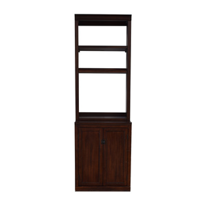 Pottery Barn Pottery Barn Bookcase with Storage Cabinet for sale