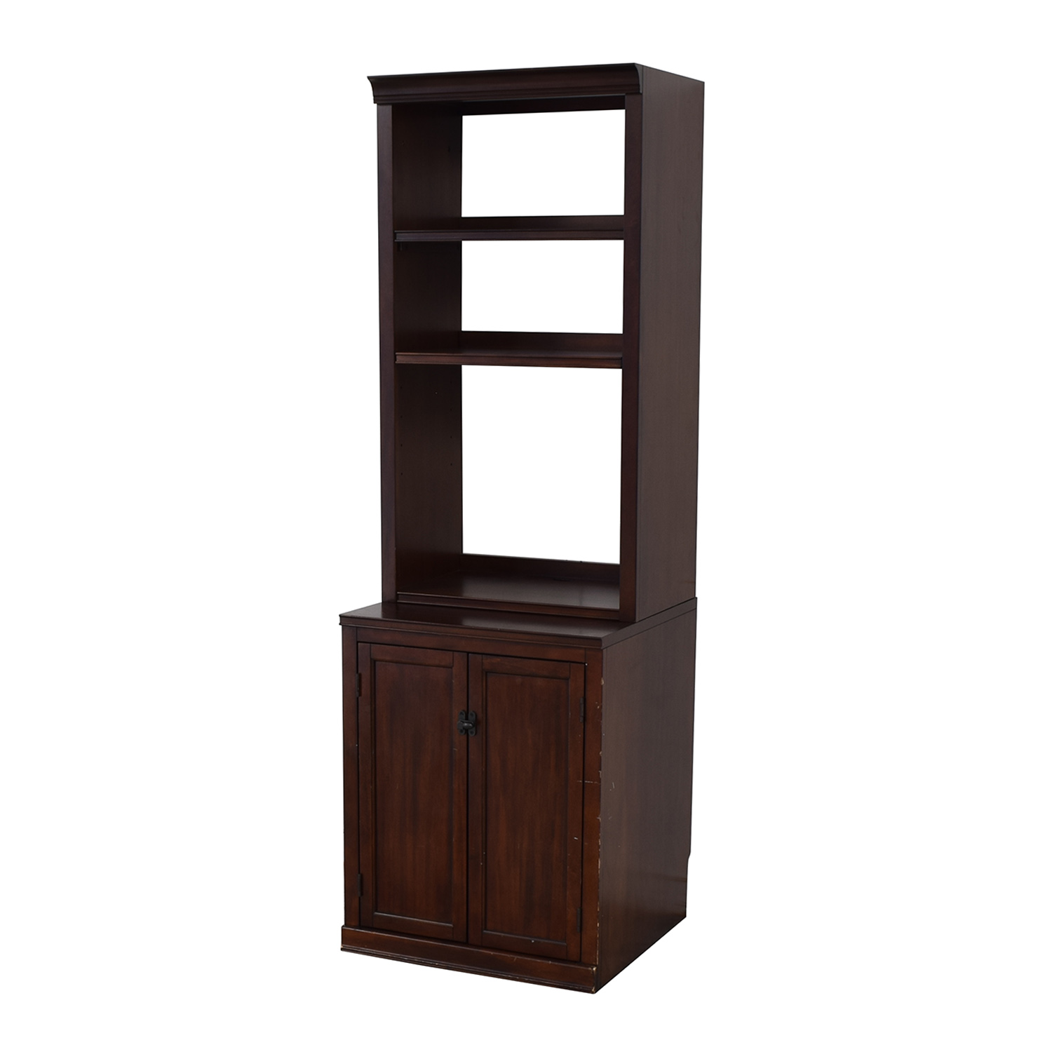 Pottery Barn Bookcase with Storage Cabinet Pottery Barn