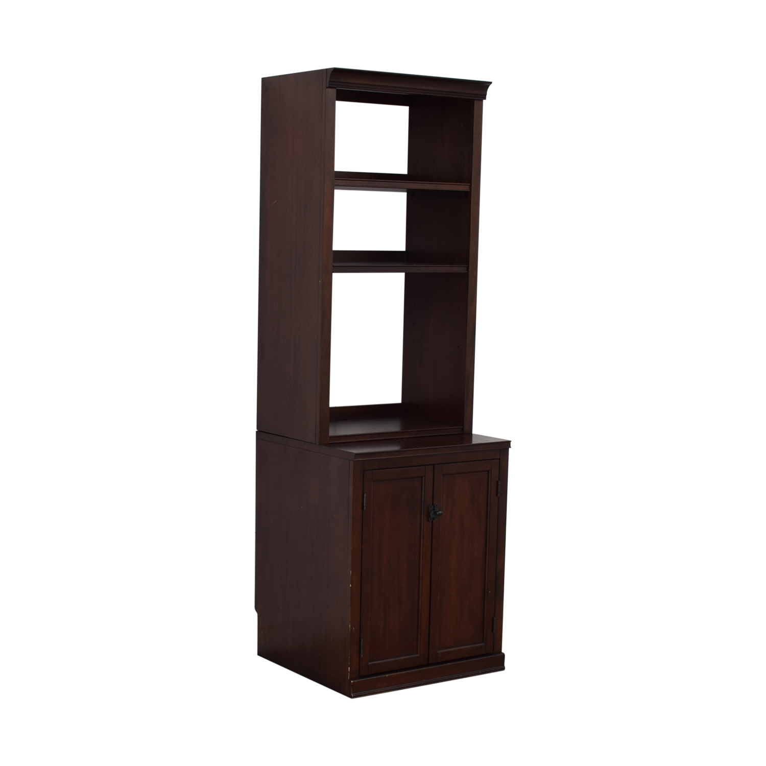 Pottery Barn Pottery Barn Bookcases with Storage Cabinet discount