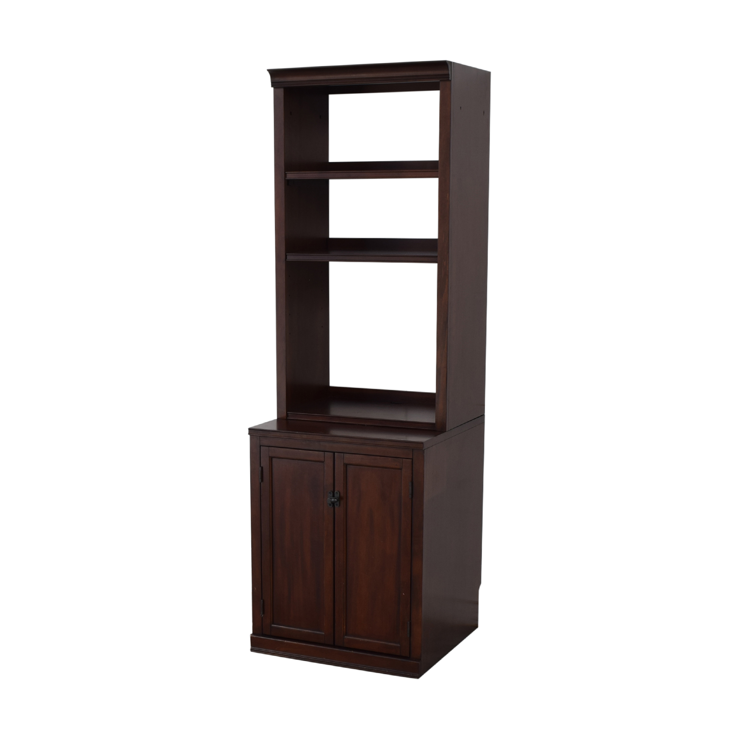 Pottery Barn Pottery Barn Bookcases with Storage Cabinet for sale