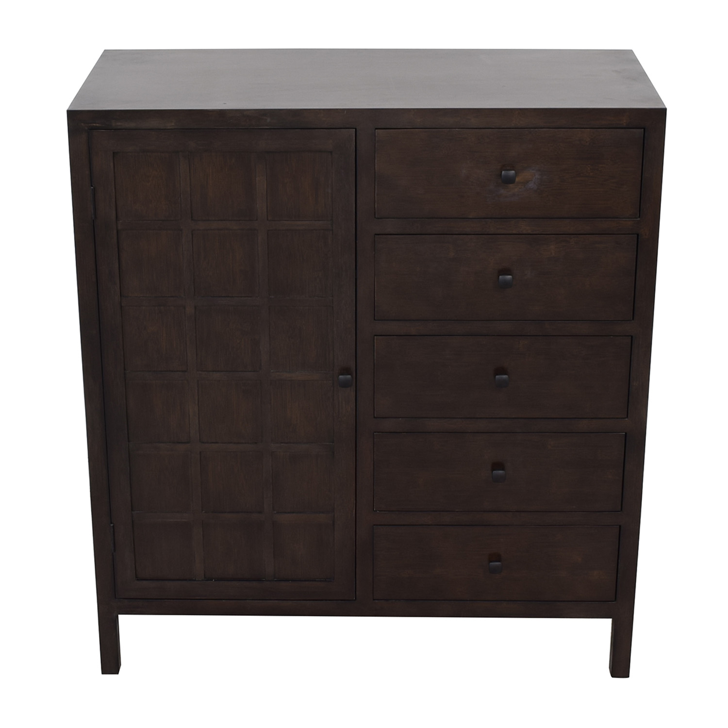 buy Crate & Barrel Maria Yee Five-Drawer Armoire Crate & Barrel Storage