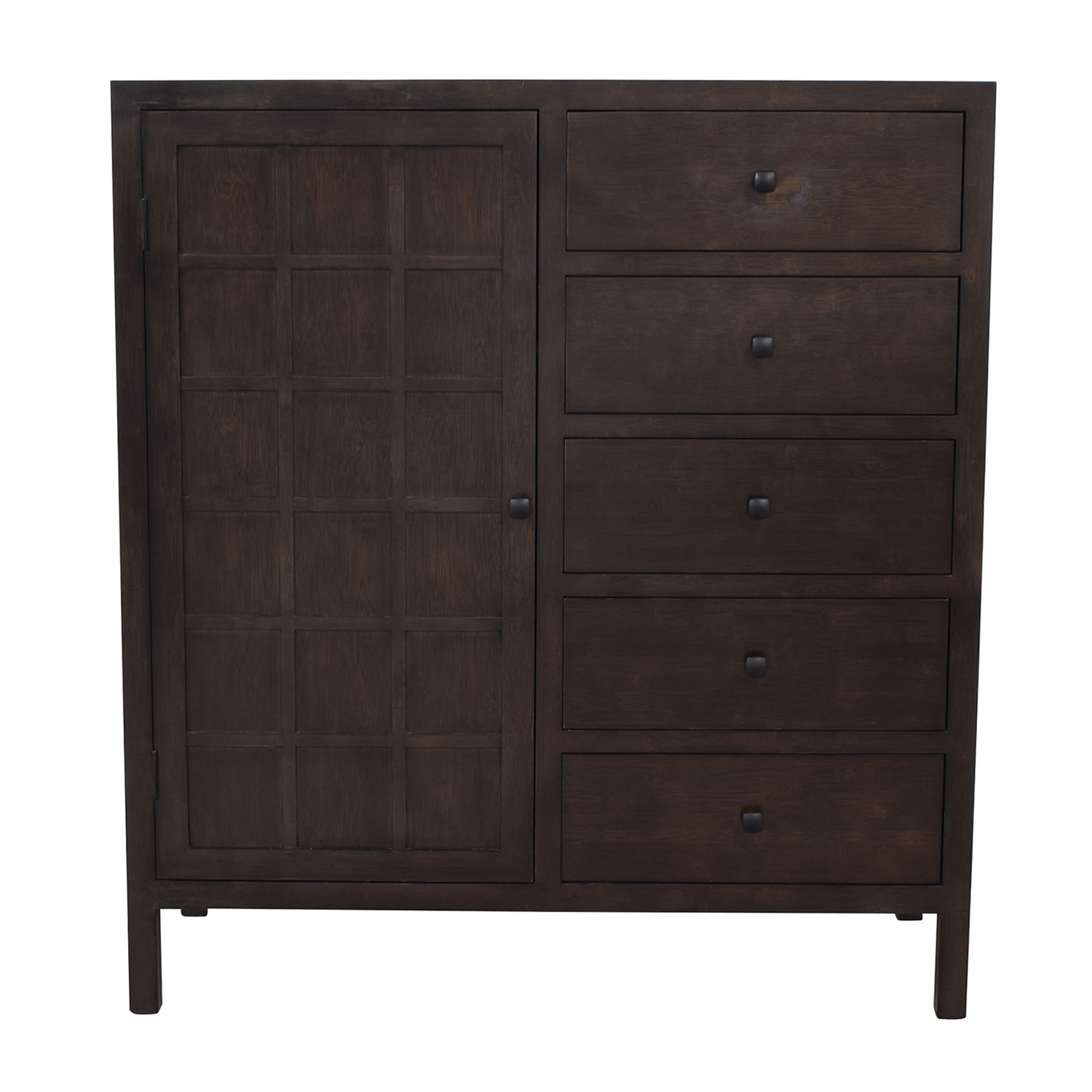 Crate & Barrel Crate & Barrel Maria Yee Five-Drawer Armoire dimensions