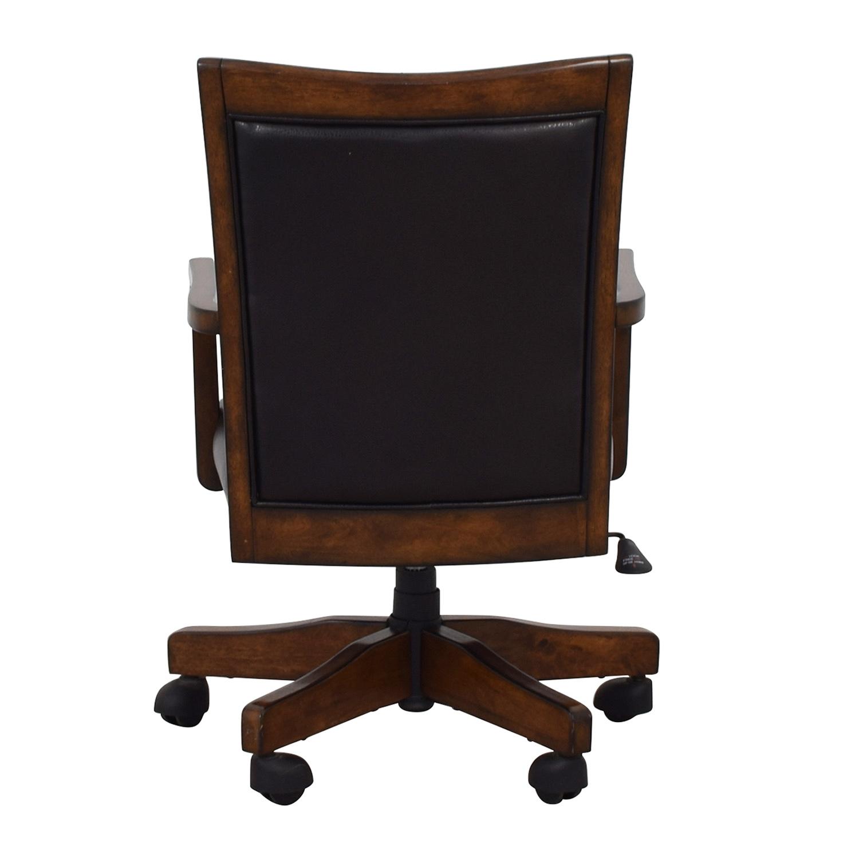 Black Desk Chair on Castors nyc