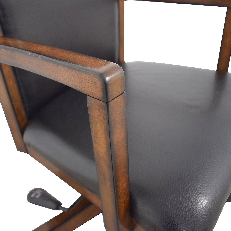 Black Desk Chair on Castors nj