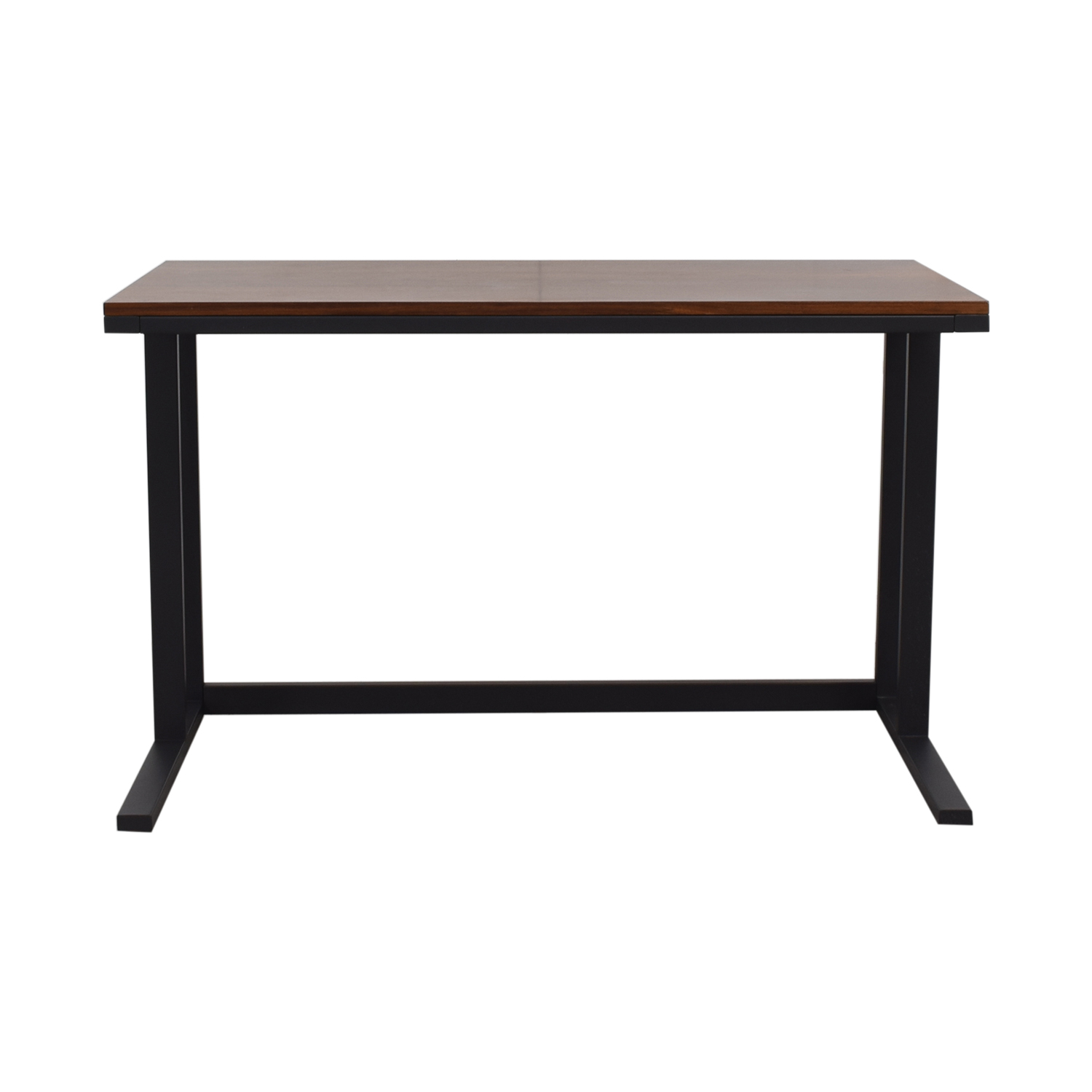 Crate & Barrel Crate & Barrel Pilsen Graphite Desk Dark Brown