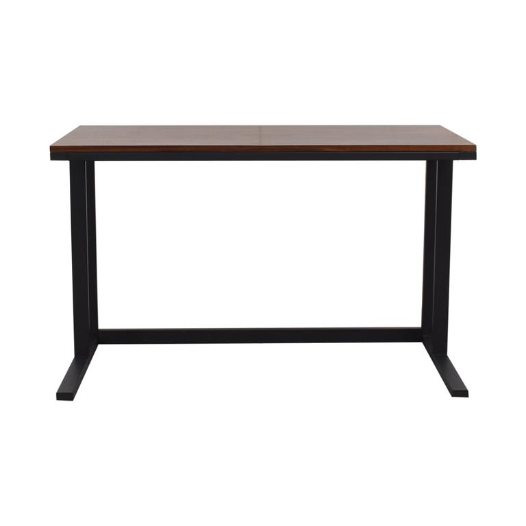 Crate & Barrel Crate & Barrel Pilsen Graphite Desk discount