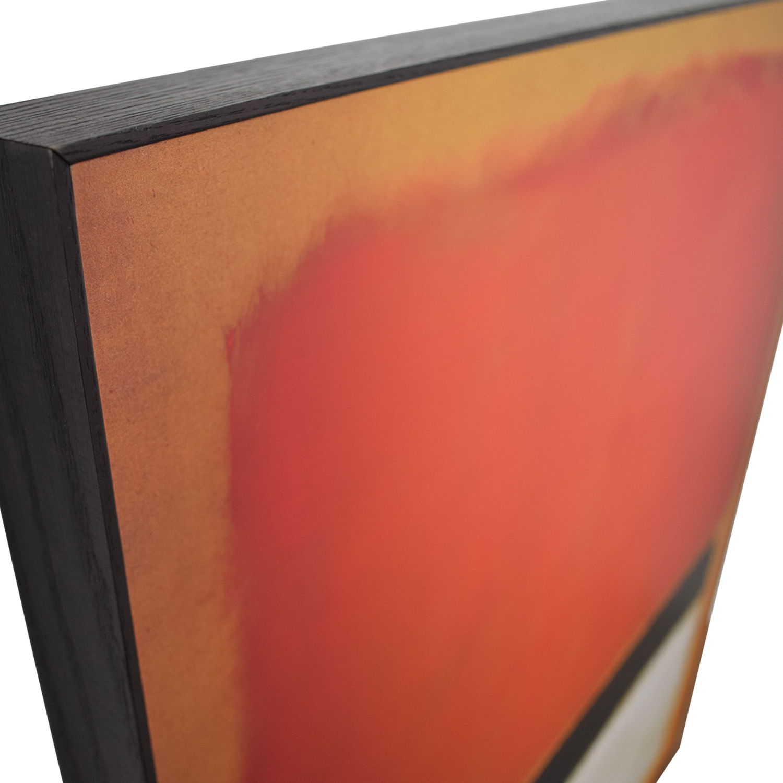 buy Framed Rothko Print  Wall Art