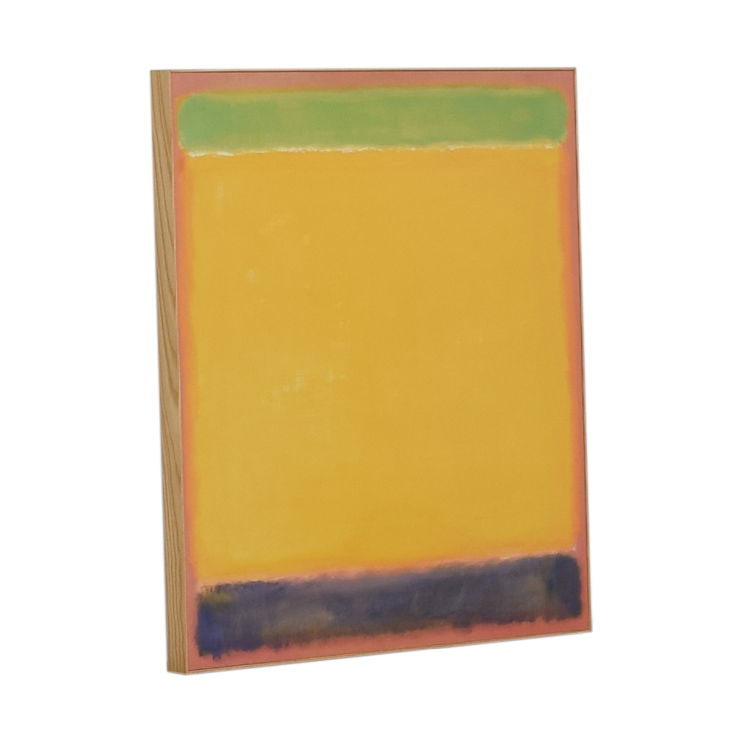 Multi-Colored Framed Rothko Print discount