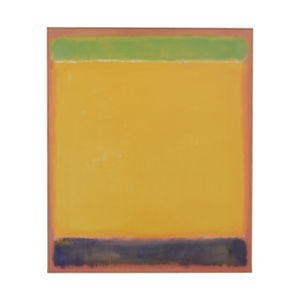buy  Multi-Colored Framed Rothko Print online