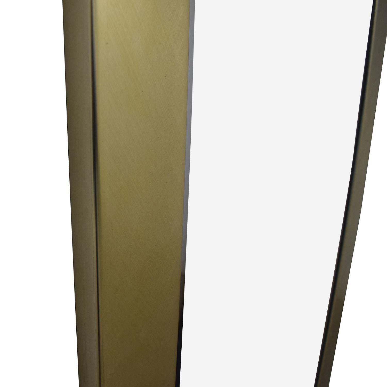 Gold Framed Wall Mirror nj
