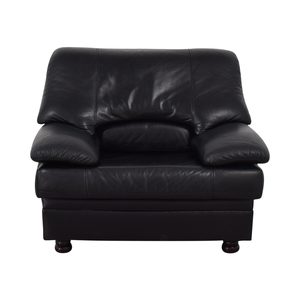 Black Oversized Accent Chair
