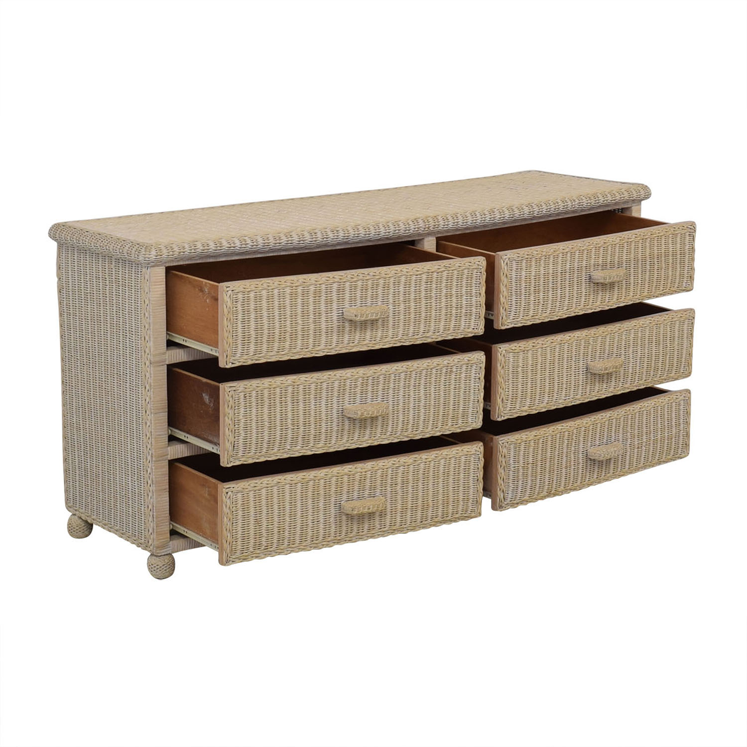 Wicker Dresser Storage