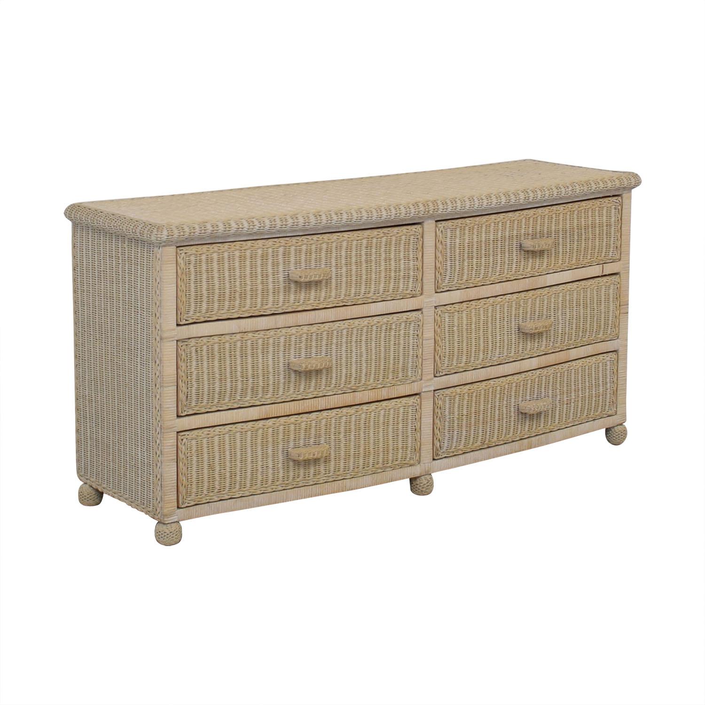Wicker Dresser Dressers