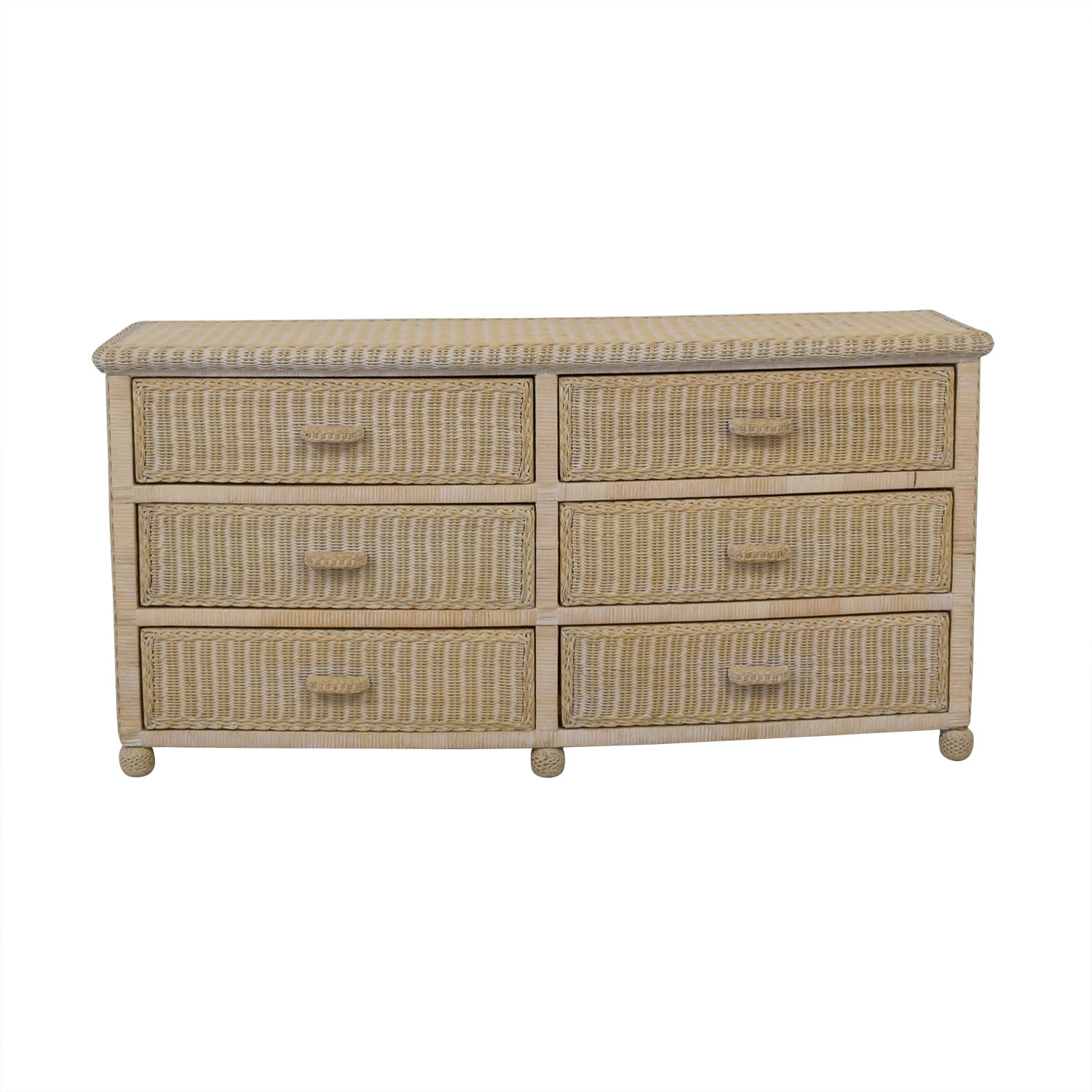 shop Wicker Dresser