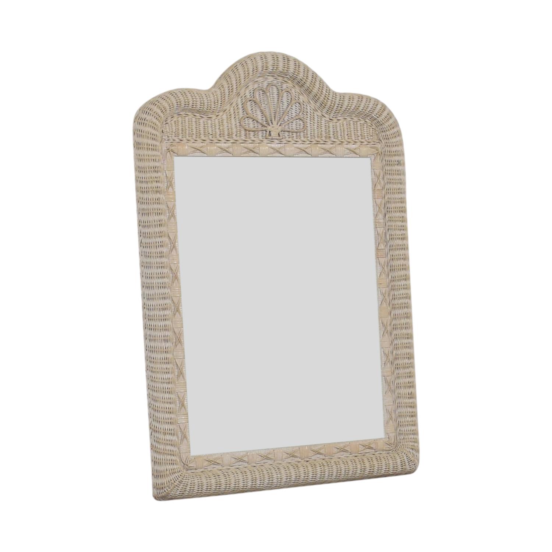 WIcker Mirror nyc