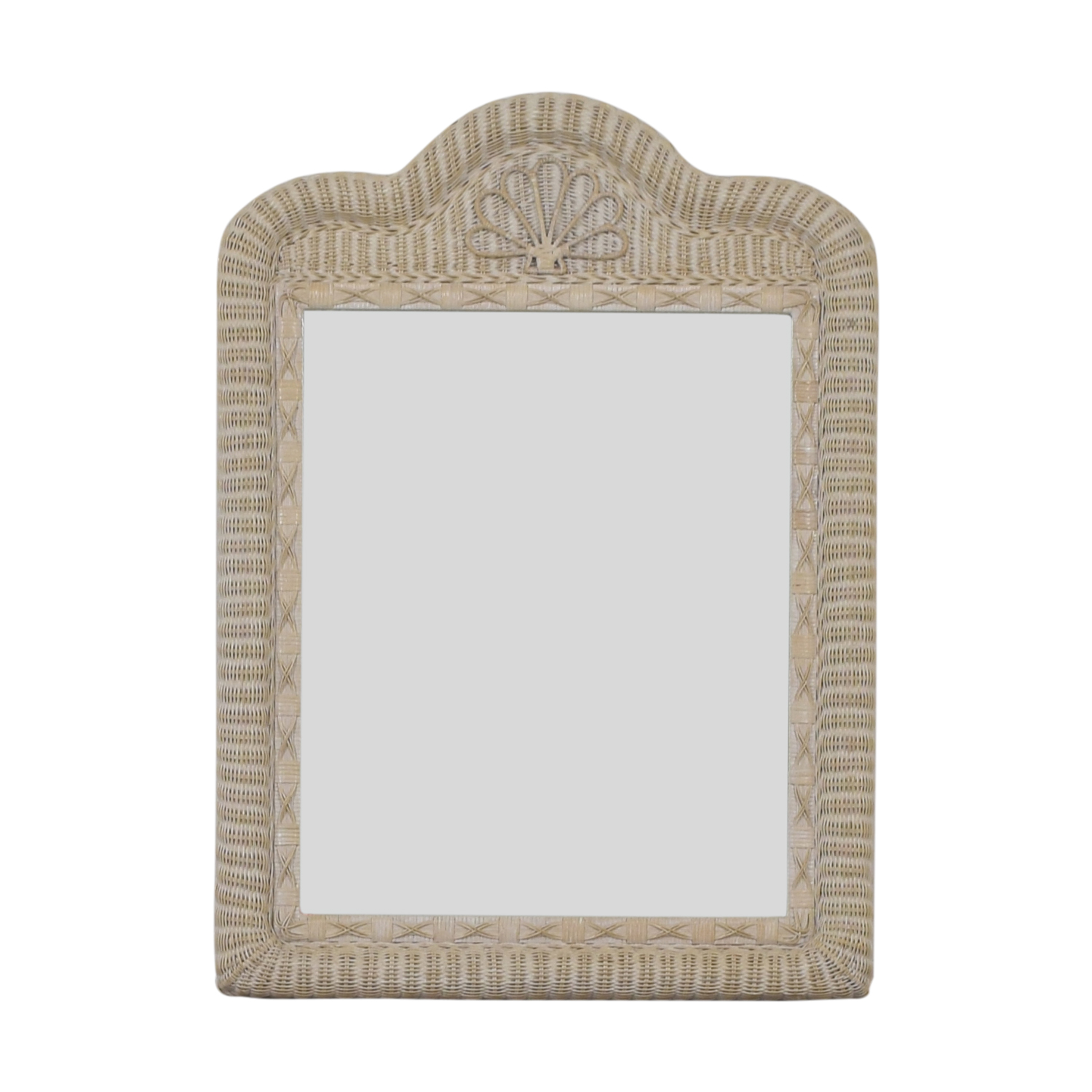 Wicker Mirror second hand